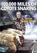 100,000 Miles of Coyote Snaring DVD by Mark Steck  0001818